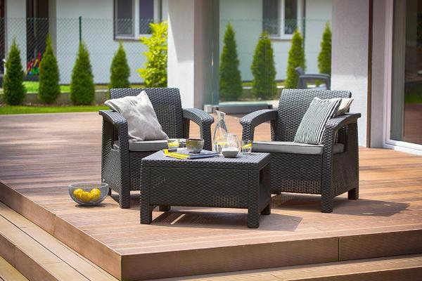 Комплект мебели Keter Corfu Weekend Set