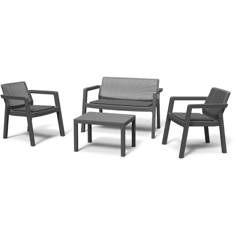 Комплект мебели Keter Emily Patio Set with cushions